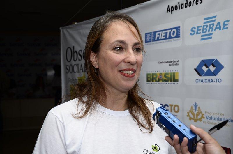 Presidente da Comissão do OS de Palmas, Ana Isabel Friedlander