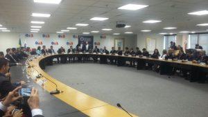 Reunião foi realizada no auditório da OAB Nacional, em Brasília - DF