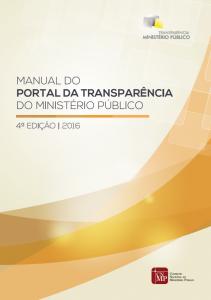Clique para ver a nova edição do Manual do Portal da Transparência do MP.