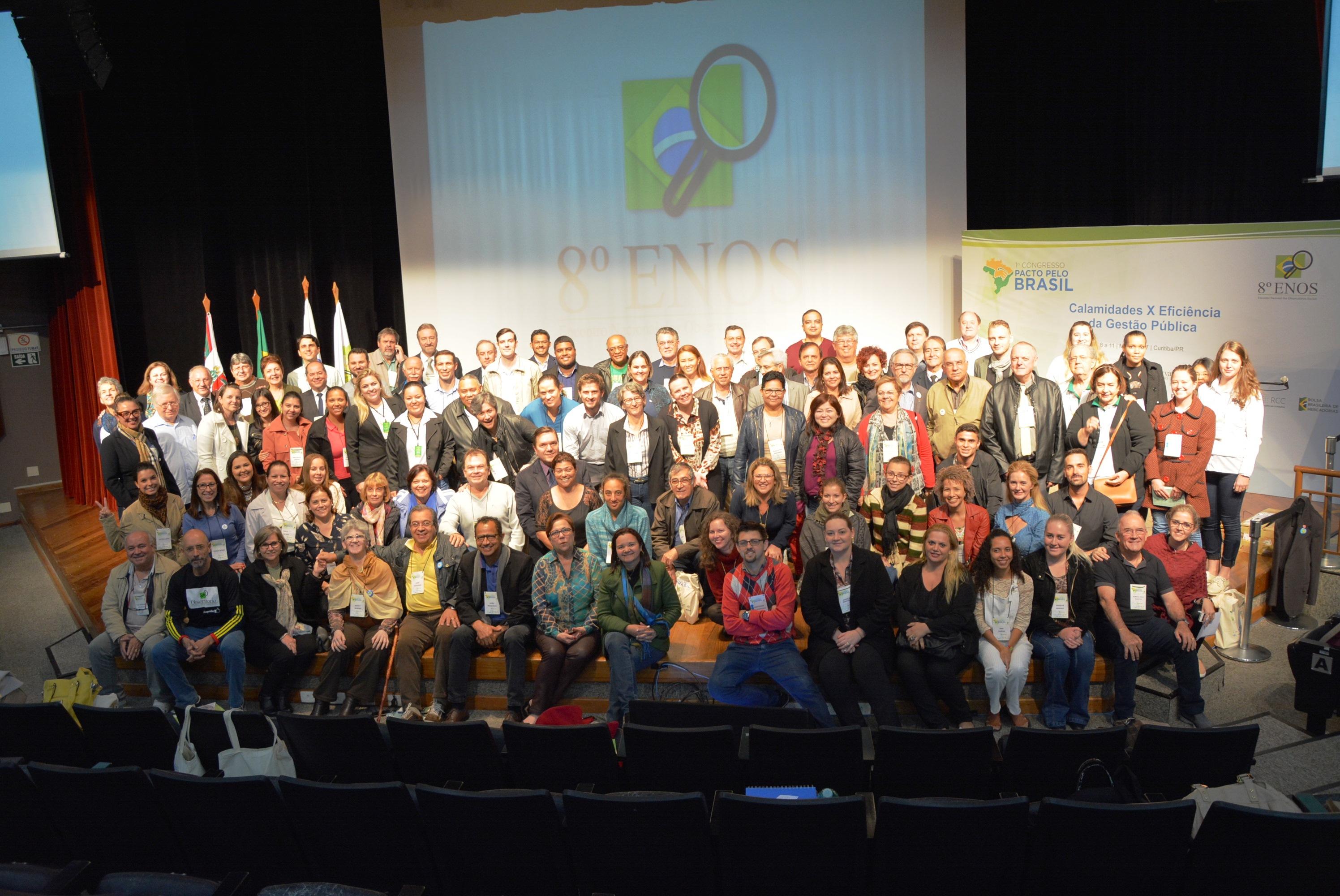 Termina em Curitiba o 1° Congresso Pacto pelo Brasil