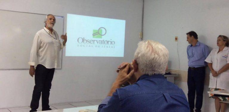 Neto – Voluntário do Observatório Social de Itajaí